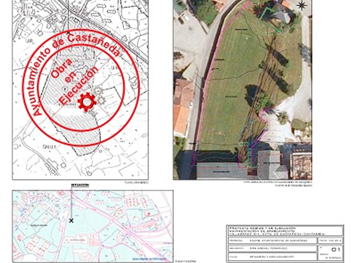 Proyecto básico y de ejecución de pavimentación del aparcamiento en Villabáñez