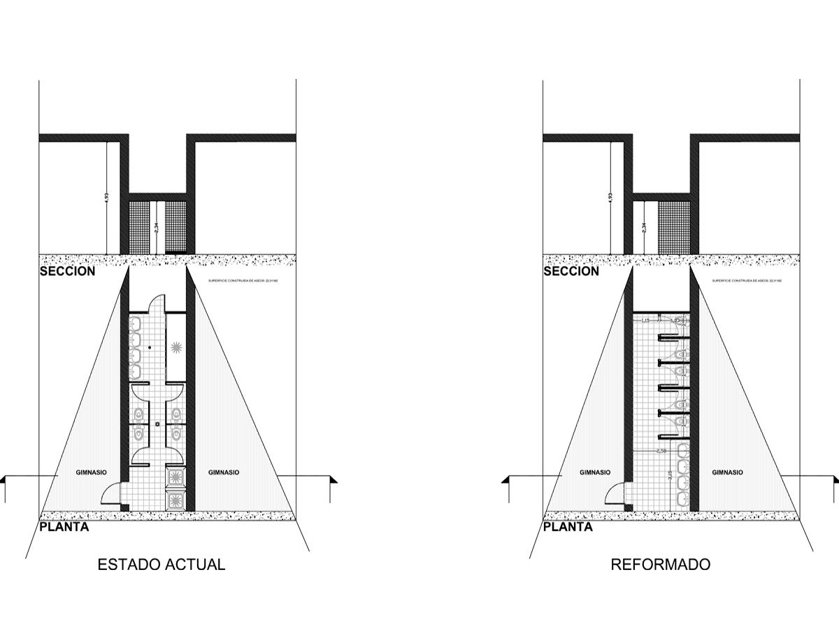 Proyecto de renovación colegio el haya destacado